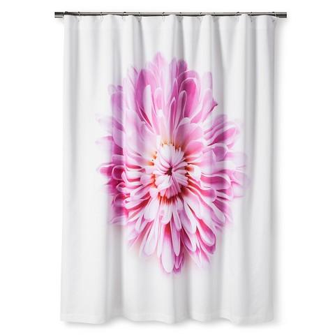 STILL Shower Curtain Pink Daisy By Mary Jo Hoffman Target