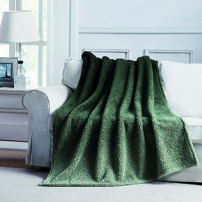 Jessica Ombre Throw - Green - 50x60