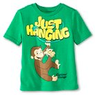 Toddler Boys' Curious George Tee Shirt - Green