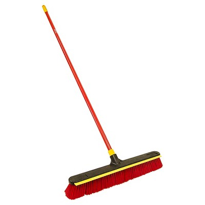 "Quickie® 24"" 2 in 1 Squeegee Pushbroom"