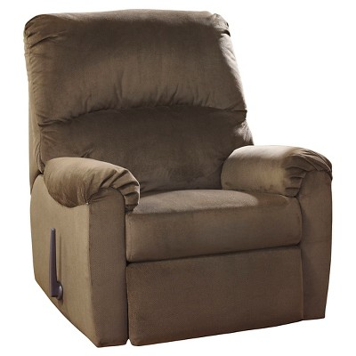 McFarin Swivel Glider Recliner Umber - Signature Design by Ashley