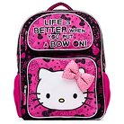 """Hello Kitty 16"""" Kids Backpack with 3D Bow - Pink"""