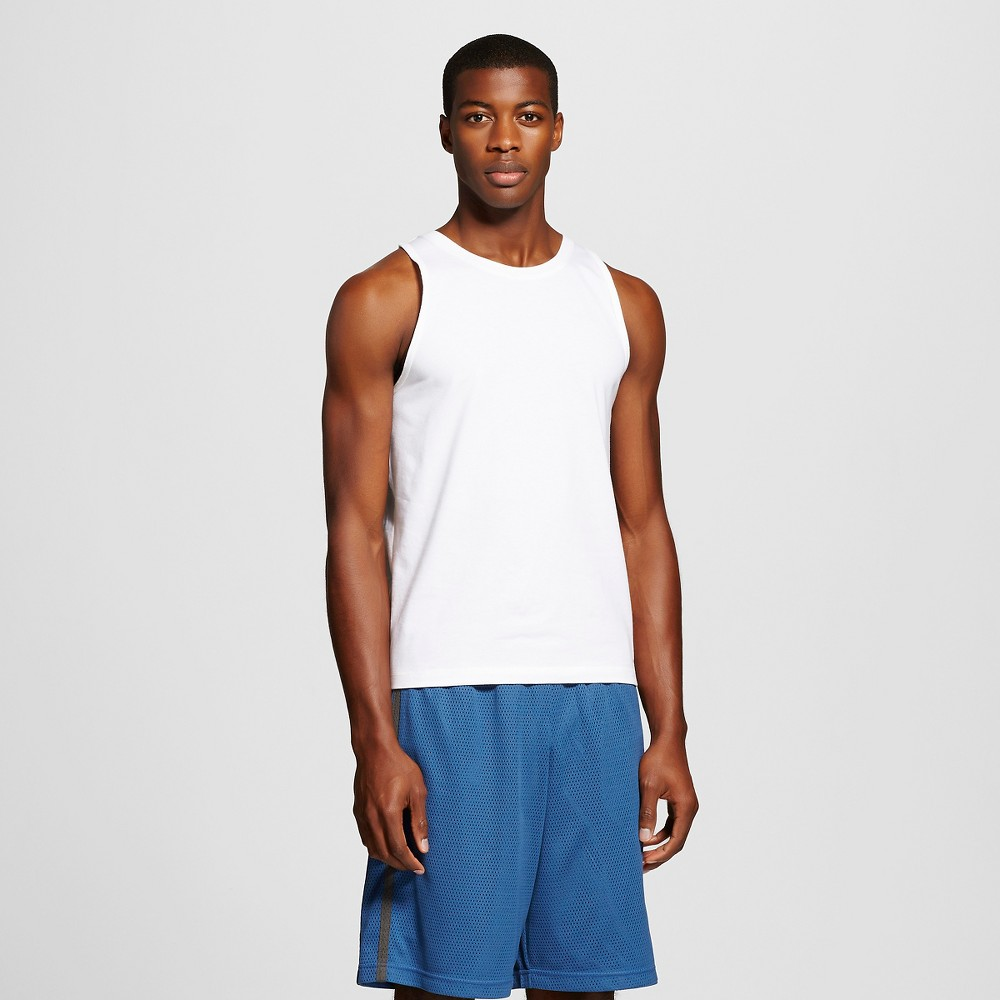 C9 Champion Men's Basketball Tank Top White XL, True White