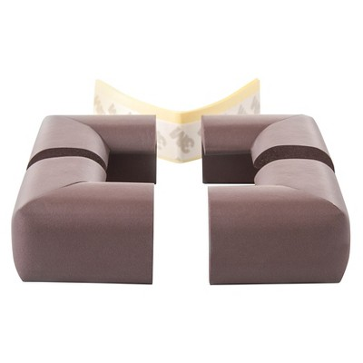 Prince Lionheart Baby 4-Pack Corner Guard - Brown