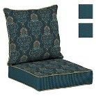 Bombay® Outdoors Anatolia Blue Reversible Deep Seat Cushion Set