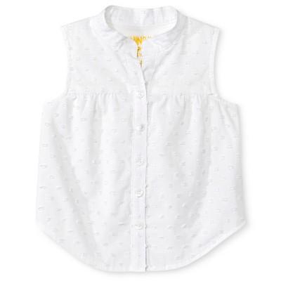 Baby Girls' Clipspot Top White 12M - Genuine Kids from Oshkosh™