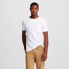 Men's Crew Neck Pocket T-Shirt - Merona™