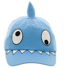 Toddler Boys' Shark Face Baseball Hat - Blue 2T-4T