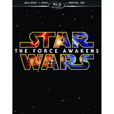 Target entertainment movies action & adventure Star Wars: The Force Awakens [Blu-ray/DVD/Digital HD] + $5 Target Gift Card