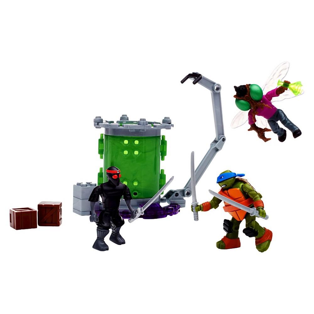 Mega Bloks Teenage Mutant Ninja Turtles Baxter Mutation Lab Playset