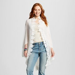 Women's White Embroidered Cocoon Mossimo Supply Co.