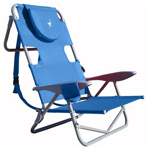 Ostrich Your Back Lounge Beach Chair Tar