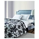 VCNY Floral Giverny Printed Sherpa Reversible Blanket - Multi-colored (Full/Queen)