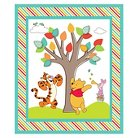"""Disney Pooh And Friends, Multi-colored, 100% Cotton, 43/44"""" Width, Fabric by the Yard"""