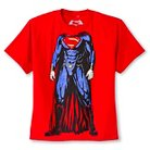 BOYS DAWN OF JUSTICE SUPERMAN HEADLESS FIGURE GRAPHIC TEE