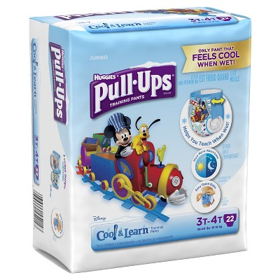 Huggies® Pull-Ups Boys Cool and Learn Training Pants Jumbo Pack 3T-4T (22 Count)
