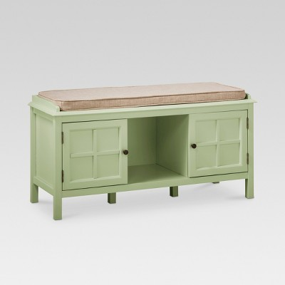 Windham Entryway Bench Green Garnish - Threshold™