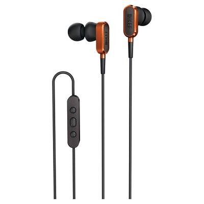 KEF M100 Earbud Headphones -Sunset Orange