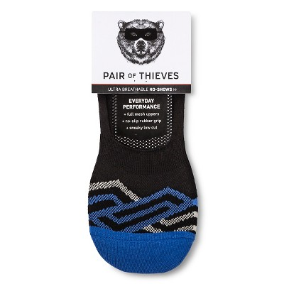 Men's Sock Liners Pair of Thieves - Blue Maze 8-12