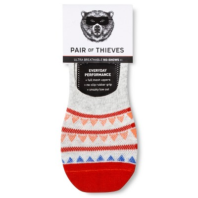 Men's Sock Liners Pair of Thieves - Orange cone 8-12