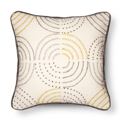 Medallion Throw Pillow - Yellow - Room Essentials™