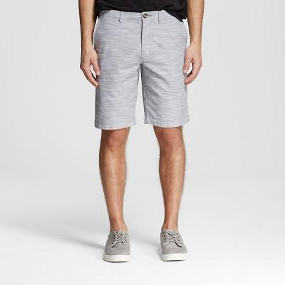 Men's Chino Club Shorts Gray Broadcloth 30 - Merona™