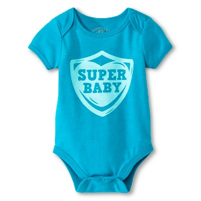 Industry 9 Newborn Super Baby Bodysuit - 3-6M Aqua