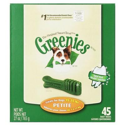 GREENIES™ Dental Chew Treats for Dogs - Petit Dog (27 Oz)