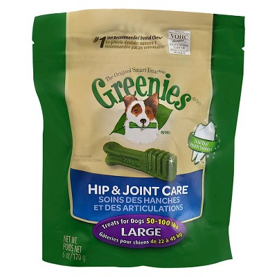 GREENIES™ Hip & Joint Care Canine Dental Chews - Large Dog (6 Oz)