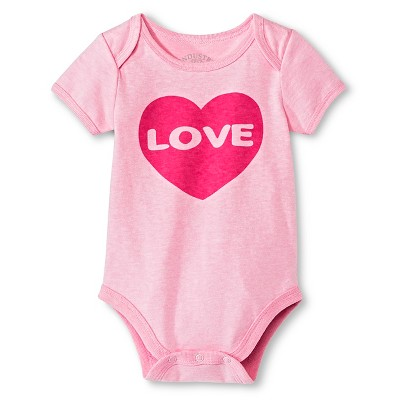 Industry 9 Newborn Love Bodysuit - 3-6M Pink