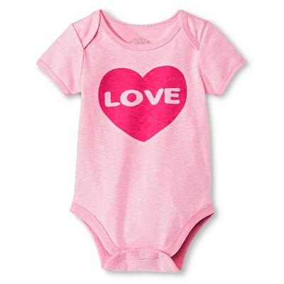 Industry 9 Newborn Love Bodysuit - 3-6M Pink
