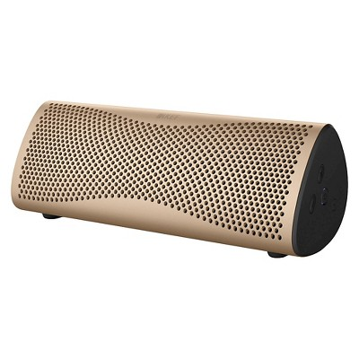 KEF MUO Portable Bluetooth Speaker - Horizon Gold