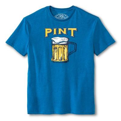 Industry 9 Men's Pint T-Shirt - M Blue