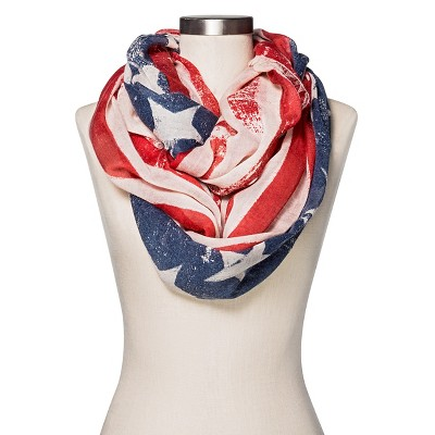Women's Flag Infinity Scarf - Mossimo Supply Co™