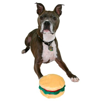 Hamburger Pet Toy One Size Only - Boots & Barkley™