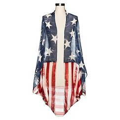 Women's Stars & Stripes Cocoon - Mossimo Supply Co™