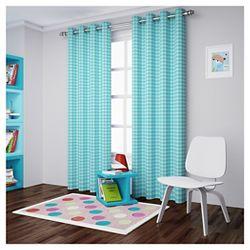 Chevron Curtain Panel Blue 42 X84 Target