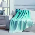 Jessica Ombre Throw - Blue - 50x60