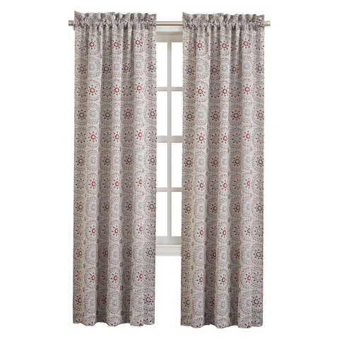 Sun Zero Sardo Room Darkening Curtain Panel Target