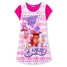 Girls' Angry Birds Nightgown - Pink M