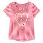 Girls' Graphic Tee Pink M - Cherokee™