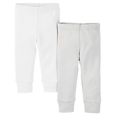 Just One You™ Made by Carter's®  Baby Boys' Pant - White NB