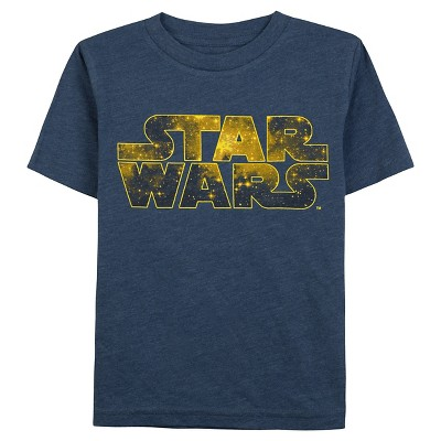 Star Wars Baby Boys' Graphic T-Shirt 12M - Navy Heather