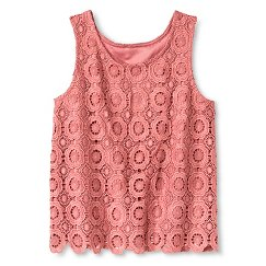 Girls' Crochet Top Pink - Xhilaration&#153