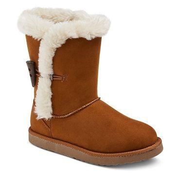 Girls' Gelsey Toggle Fleece Boot Assorted Colors - Cherokee®
