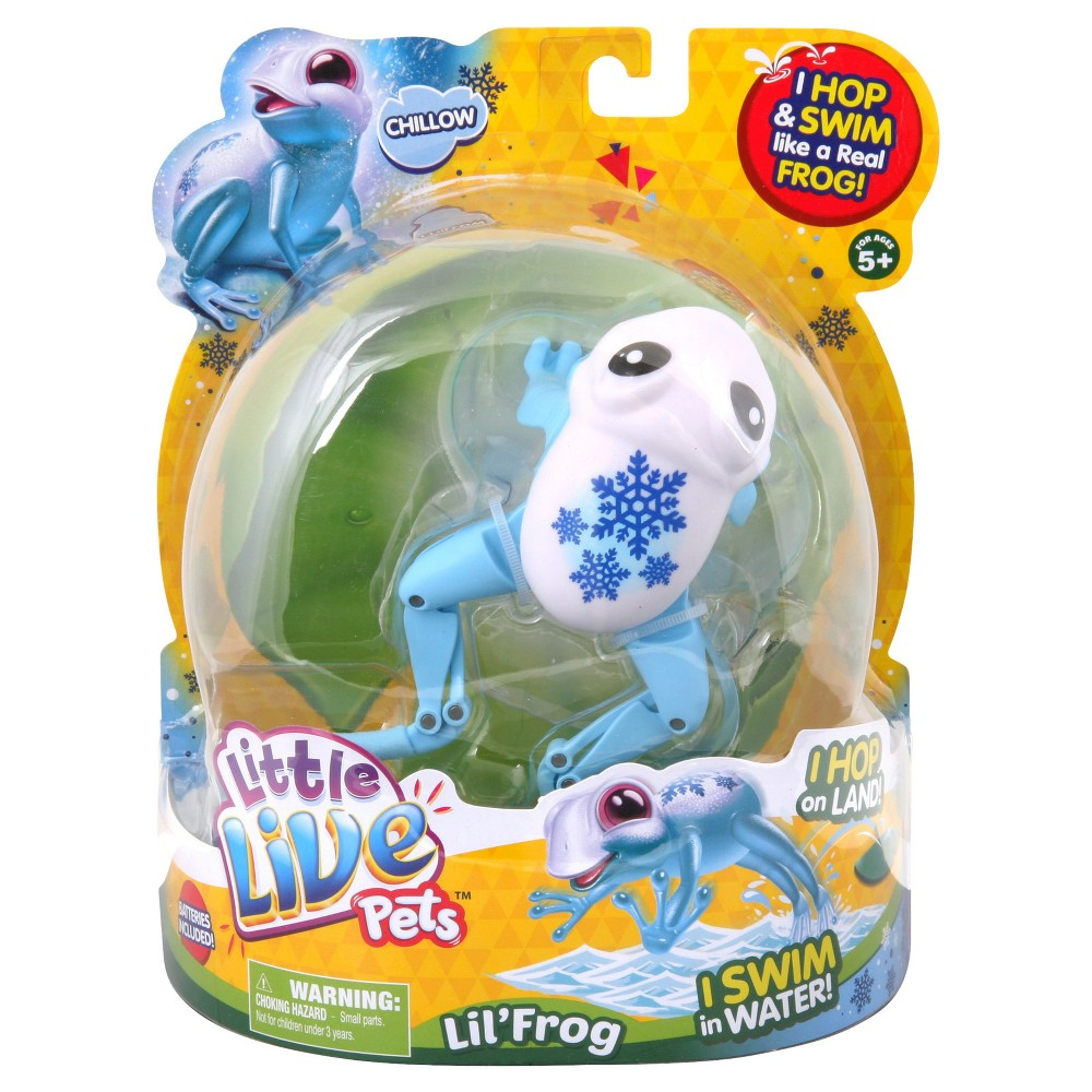 Little Live Pets Lil' Frog - Chillow the Cool Frog
