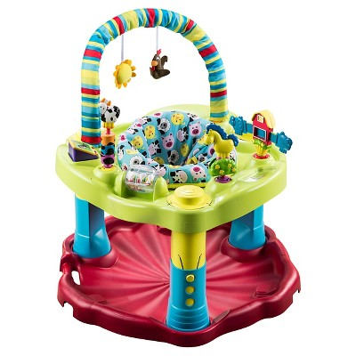 Evenflo ExerSaucer Bounce & Learn Activity Center Bouncin' Barnyard