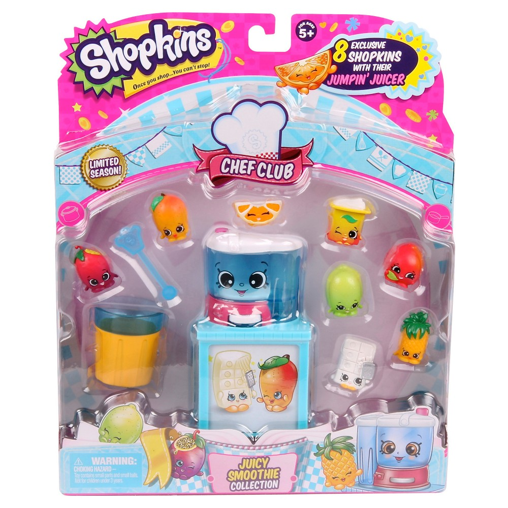 Shopkins Chef Club Theme Pack - Juicy Smoothie Collection