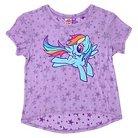 Girls' My Little Pony Star Print Tee - Lilac