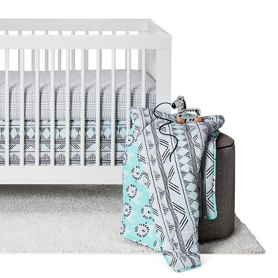 Sabrina Soto™ Leo Crib Bedding Set (3pc) - Turquoise